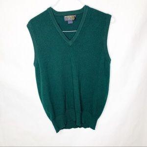 Vintage Brooks Brothers Cashmere Vest Sleeveless